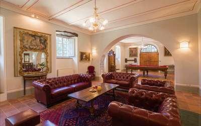 Villa Ivana: Living room