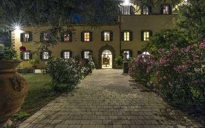 Villa Ivana - Cortona: Villa Ivana by night