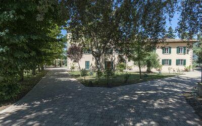 Villa Ivana - Cortona: Rear Facade