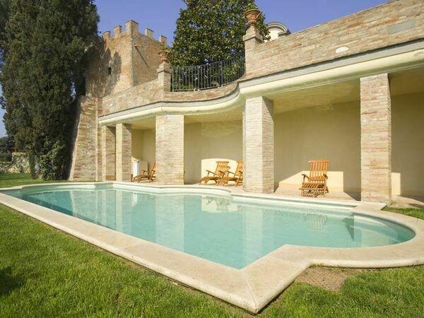Villa Di Cabbiavoli, Villa for rent in Castelfiorentino, Tuscany