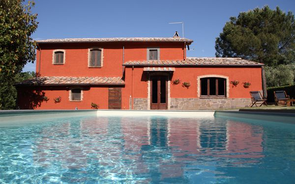 Val Di Coreto, Villa for rent in Bagnoregio, Latium