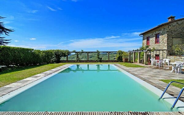 Villa Borbone, Villa for rent in Santo Stefano, Tuscany