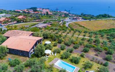 Villa Karen: Villa in sicily with sea view