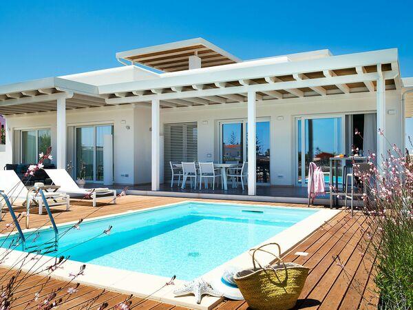 Palma, Villa for rent in Reitani, Sicily