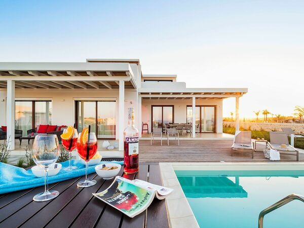 Ulivo, Villa for rent in Reitani, Sicily