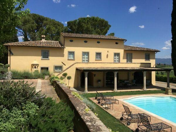 Villa Luna Di Cortona in affitto a Manzano