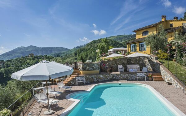 Villa Sandra, Villa for rent in Cantagrillo-casalguidi, Tuscany