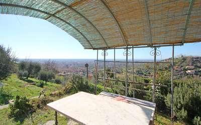 La Casa Di Pietra: Pavillon mit Meerblick