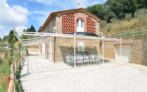 Villa Orchidea, Villa for rent in Petrognano, Tuscany