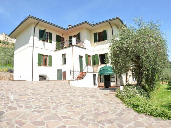 Toskánsko, Lucca, Villa Vaniglia