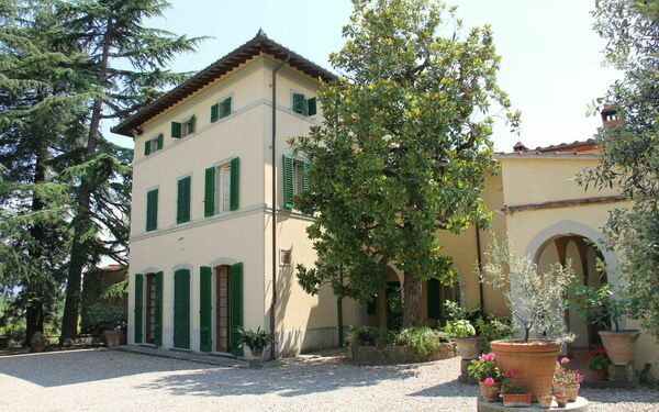 Villa Catola, Villa for rent in Bucine, Tuscany
