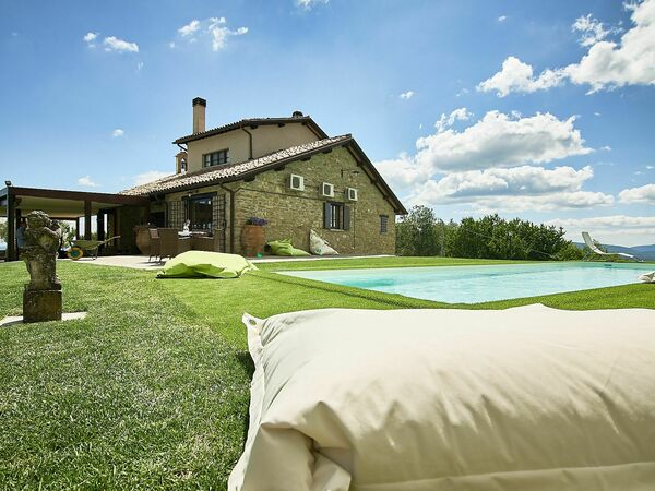 Villa Umbra, Villa for rent in Città Di Castello, Umbria