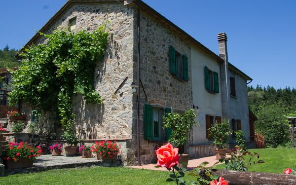 Le Panche, Country House for rent in Lanciole, Tuscany