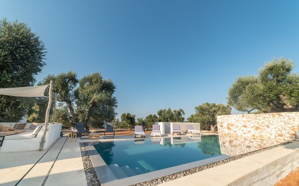 Casa Liloudou, Villa for rent in Carovigno, Apulia