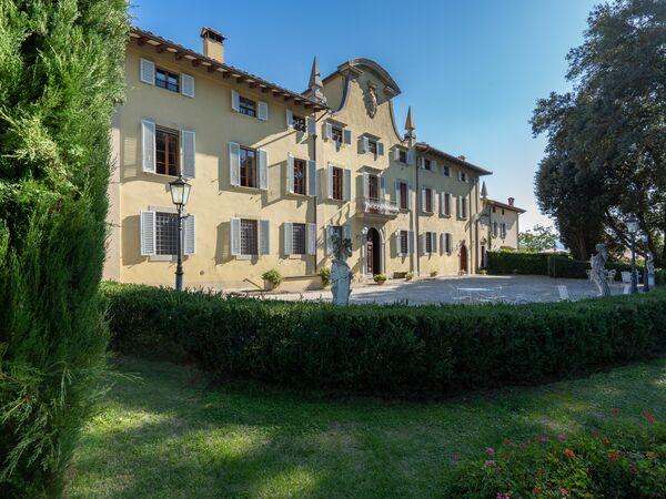 Toskánsko, Ronta, Villa Dei Marchesi