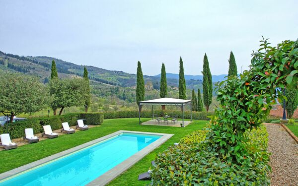 Villa Cerchi, Villa for rent in Rufina, Tuscany
