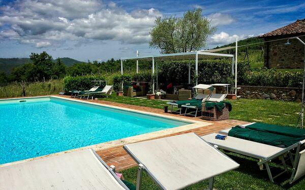 Landhaus Borgo Gerlino in  Rapale -Toskana