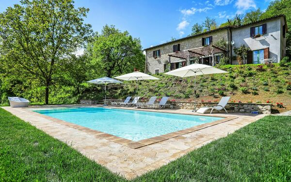 Casale Armonia, Villa for rent in Castelrinaldi, Umbria
