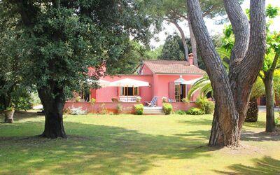 Villa Rosa: privater Garten