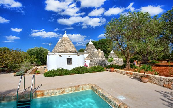 Trullo Pascarosa, Villa for rent in Pascarosa, Apulia