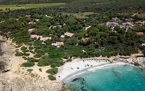 Porto Pino, Villa for rent in Porto Pino, Sardinia
