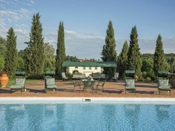 Villa Mulino, Villa for rent in Vecchietto, Tuscany