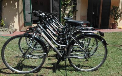 La Villa Dei Ricordi: Bicycles available for free ...