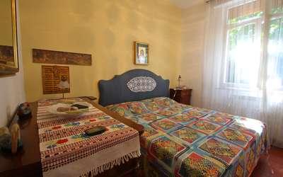 Ai Cerri: Camera da letto della casa vacanze