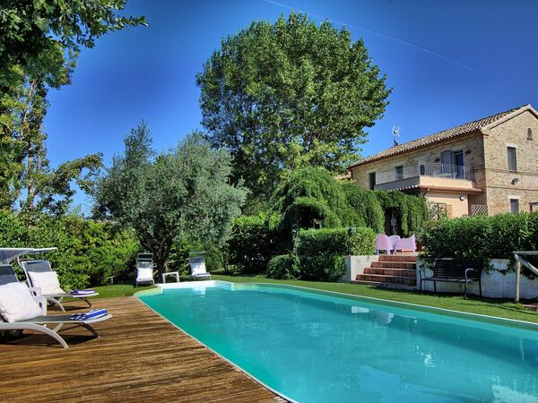 La Villa Di Ostra, Villa for rent in Ostra, The Marches