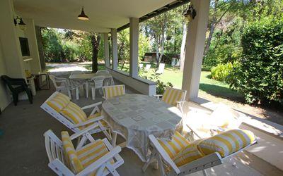 Villa Perchessì: Veranda