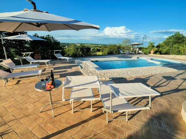 I Gigli Di Montefiascone, Villa for rent in Montefiascone, Latium