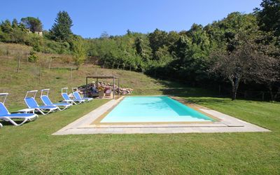 Capanna Del Pastore: Private Pool