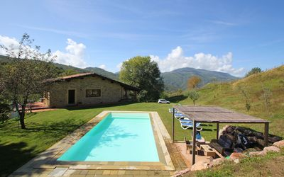 Capanna Del Pastore: House in garfagnana with panoramic view