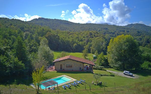 : Villa mit Pool in der Garfagnana