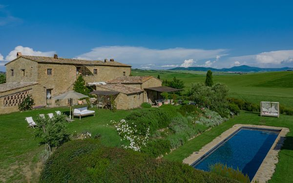 Romantica, Villa for rent in Pienza, Tuscany