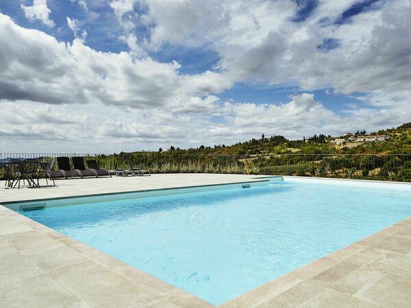 Villa Cincinelli, Villa for rent in Capolona, Tuscany