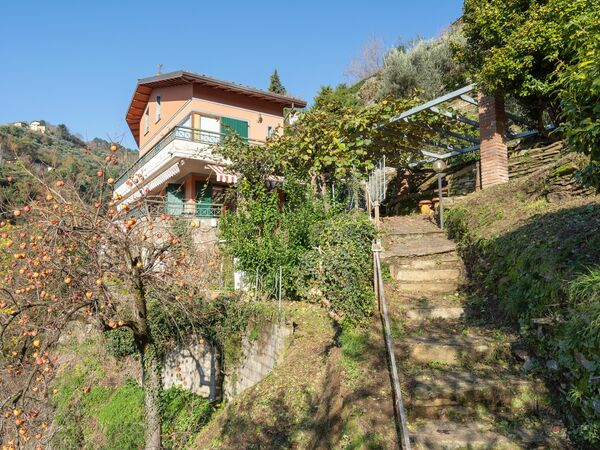 Toskánsko, Montignoso, Villa Vigna