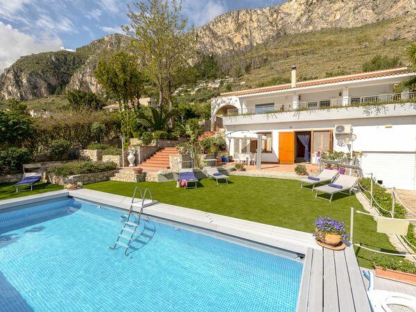 Villa Di Sofia, Villa for rent in Santa Flavia, Sicily