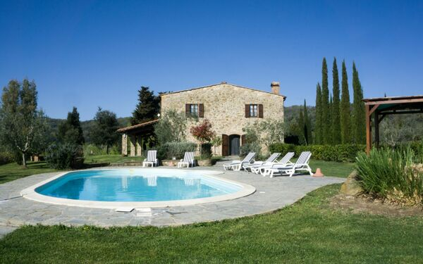 Villa Il Grifone, Country House for rent in Buriano, Tuscany