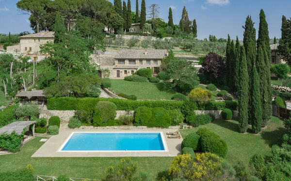 Villa Gemma, Villa for rent in Ellerone, Tuscany