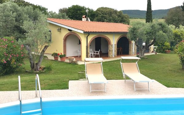 Villa Le Vigne, Villa for rent in Bibbona, Tuscany