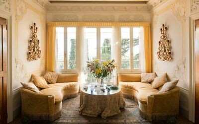 Villa Il Galero: First Floor Living Room