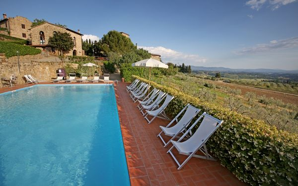 La Terrazza Di Cinciano, Apartment for rent in San Giorgio, Tuscany