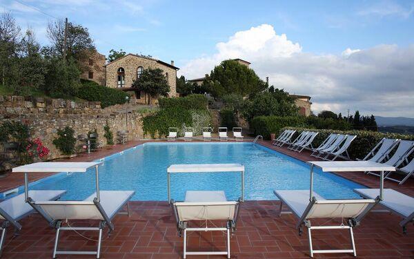 La Terrazza Di Cinciano, Apartment for rent in San Giorgio, Tuscany