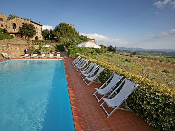 La Terrazza Di Cinciano, Apartment for rent in Piecorto, Tuscany