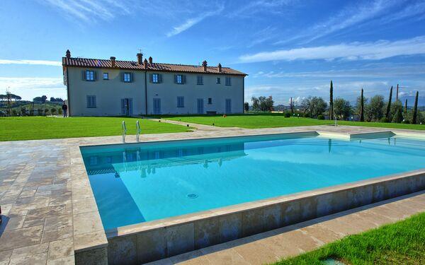 Il Sole Di Vino, Apartment for rent in Toiano, Tuscany