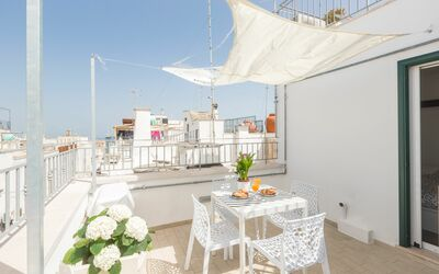 Vista Mare Da Giulia: Equipped terrace