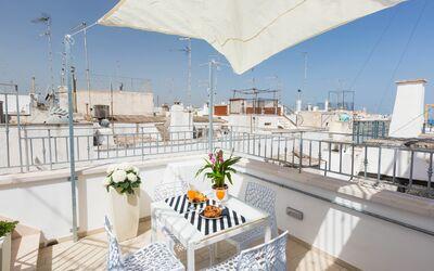 Vista Mare Da Giulia: equipped terrace