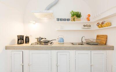 Vista Mare Da Giulia: Kitchen