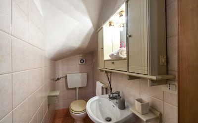 Villa Victory: Toilette nel seminterrato